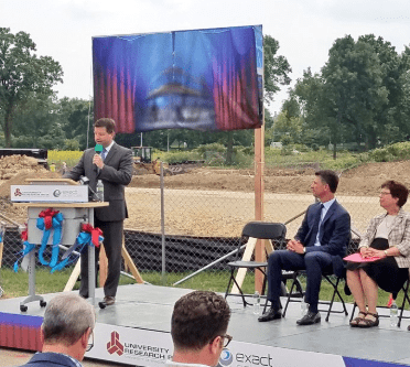 Exact Sciences Groundbreaking
