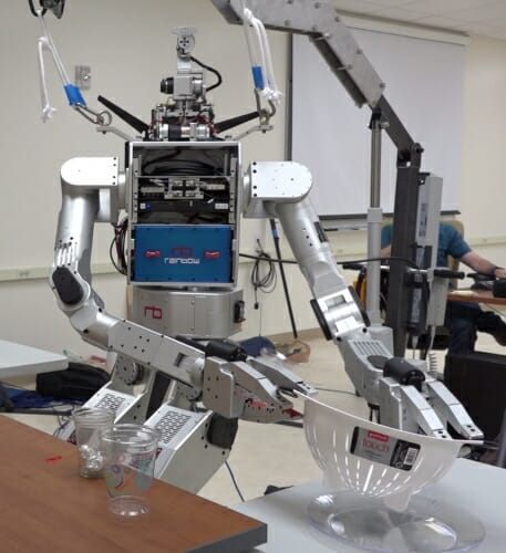 Scientists developing 'shared control' robotics