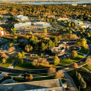 The University Research Park on Madison's west side is home to Exact Sciences and other innovative companies. A recent report lauded Madison's high-technology growth. PHOTO: BRYCE RICHTER