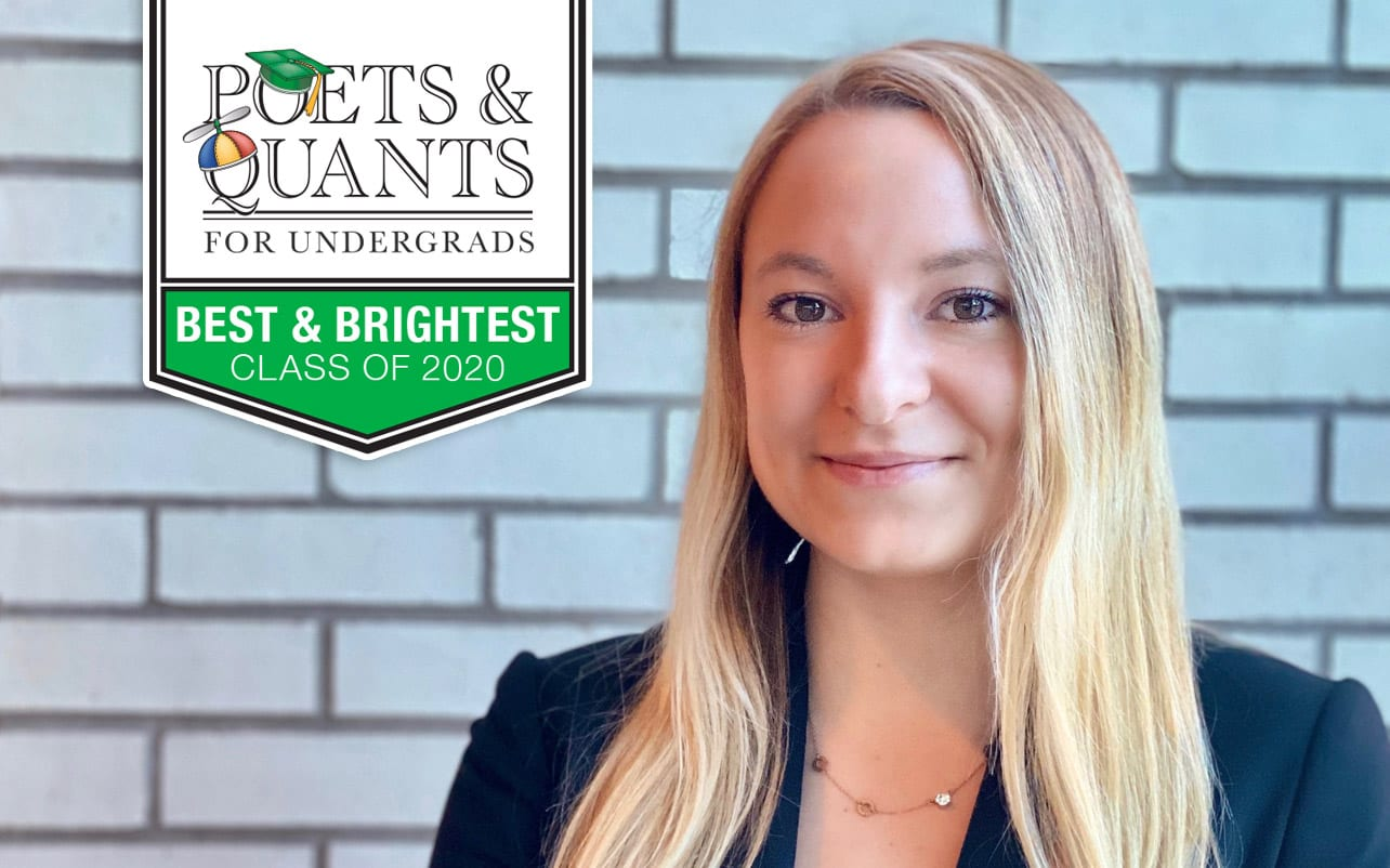 Poets and Quants For Undergrads 2020 Best and Brightest Jenna Scheffert
