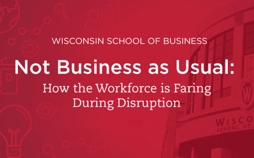 WI School of Business workforce graphic
