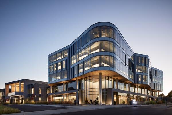 Exact Sciences Headquarters – Photo Credit: Steve Hall at Hall + Merrick