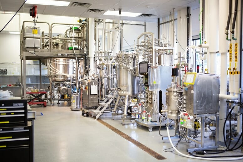 Part of Aldevron's expansion is a fermentation suite that will allow the company to expand its projects' scope and scale.