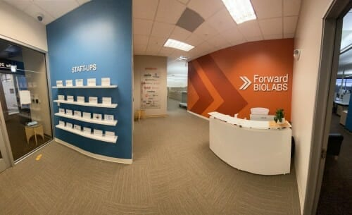 Forward BIOLABS, a private nonprofit located in University Research Park, helps reduce the time it takes fledgling biohealth companies to launch by six to nine months and is instrumental in keeping biohealth talent in Wisconsin. SUBMITTED PHOTO